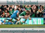 watch Ireland vs Italy stream