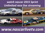 Watching Nascar Sprint Cup Unlimited Race Live 14 Feb
