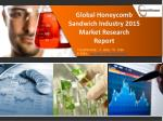 Global Honeycomb Sandwich Industry 2015: Market Size, Share