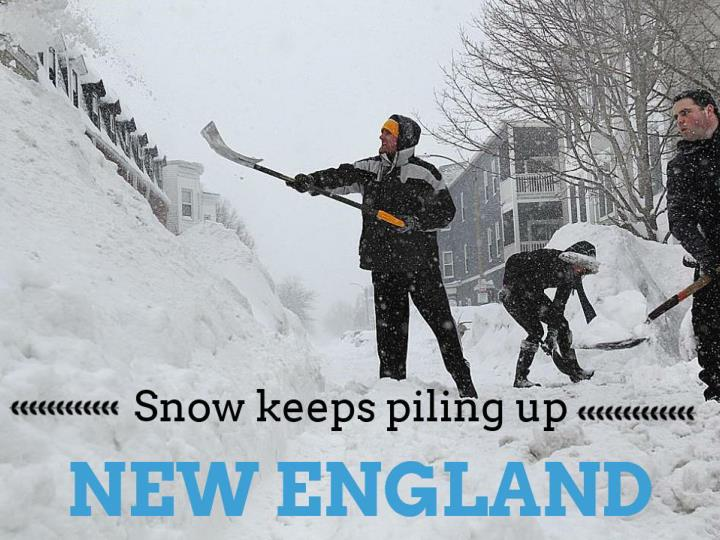snow keeps piling up new england n.